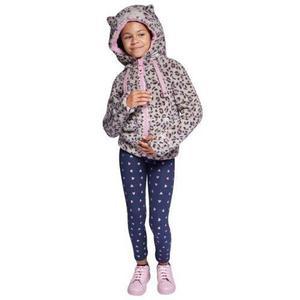 Chamarra animal print gato para niña pink 177065 b.18*