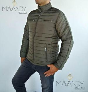 b7b72594b2e Chamarra chaqueta abrigo hombre forrada invierno importacion