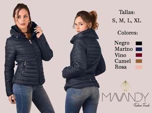 Chamarra chaqueta abrigo mujer invierno moda casual 0001