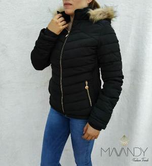 Chamarra chaqueta abrigo mujer invierno moda casual 0004