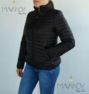Chamarra chaqueta abrigo mujer invierno moda casual 0005
