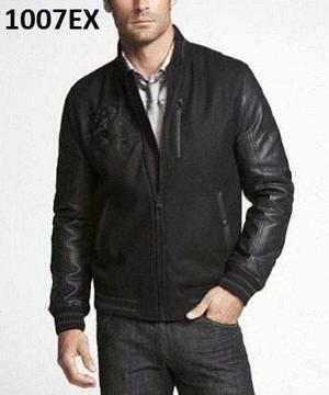 S - chamarra express negra s1007ex ropa hombre 100% original