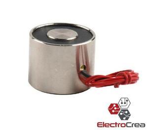 Electroiman 12v levanta 20kg electromagneto pic avr iman