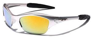 Kids edad 3-12 gafas de sol deportivas de mitad marco