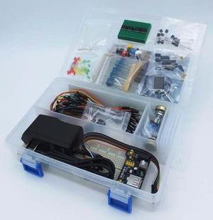 Kit starter electronica basica protoboard voltmetro a meses!