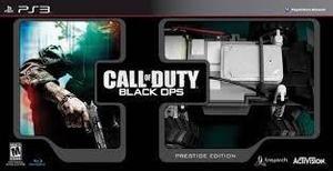 Call of duty black ops prestige ps3 nuevo citygame