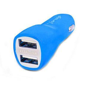 Cargador celular auto 5v 2.1a usb portatil au-103 vorago a