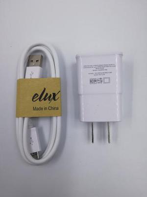 Cargador marca elux micro usb 2amp calidad remate $48