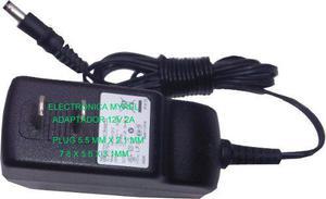 Eliminador 12v 2a transformador cargador luces led camaras