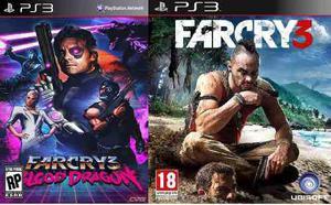 Far cry 3 + far cry blood dragon ps3