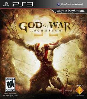 God of war asencion ps3 (34.02 gb) digital oferta