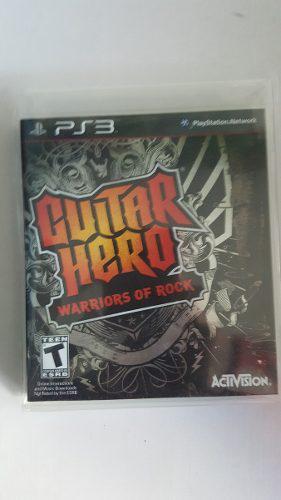 Guitar hero warriors of rock ps3 nuevo::..