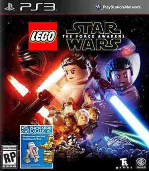 Lego stars wars the force awakens ps3