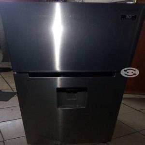 Refrigerador samsung de acero inoxidable