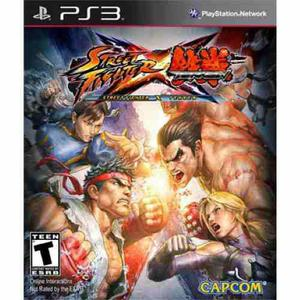 Street fighter x tekken + street fighter ii hd ps3 d1g1t4l