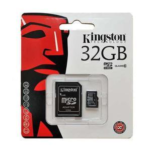 3 memorias micro sd 32gb kingston clase 10 hc