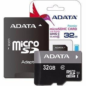 Envio gratis micro sd adata clase 10 32gb ram-2164