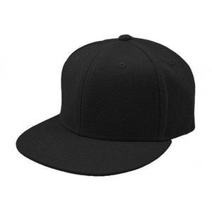 Gorra tipo snapback lisa negra cerrada ó abierta m l xl 9c6e6913a34