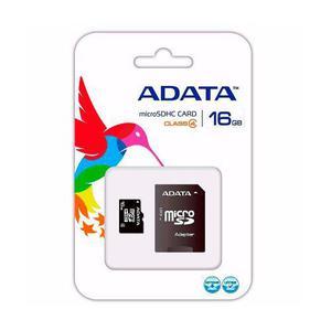 Lote 10 memoria micro sd adata 16gb celulares camaras tablet