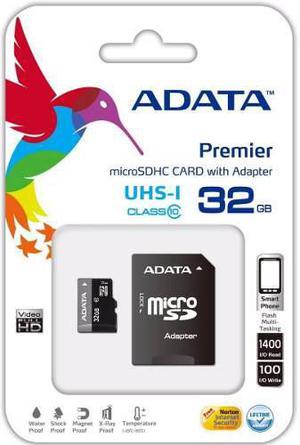 Lote 10 tarjeta memoria micro sd adata 32 gb clase 10!