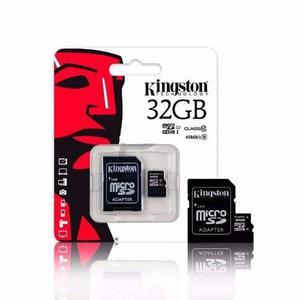 Memora micro sd 32gb kingston cl10 80mb/s