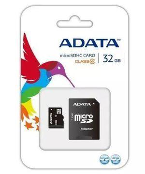 Memoria adata micro sd hc 32gb clase 4 ausdh32gcl4-ra1