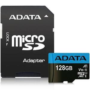 Memoria adata micro sd sdxc 128gb clase 10 uhs-i adaptado sd