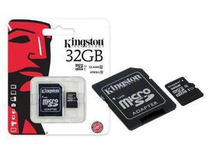 Memoria kingston micro sd 32gb clase 10 con peliculas hd