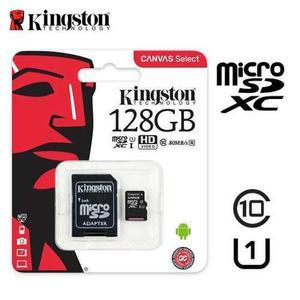 Memoria micro sd 128gb kingston canvas select class10 uhs-i