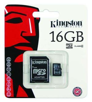 Memoria micro sd 16 gb + adaptador sd celulares camaras
