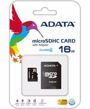 Memoria micro sd 16gb adata para celular camara 16 gb