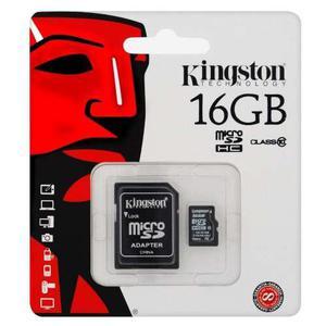 Memoria micro sd 16gb sd 16 gb + adaptador nueva