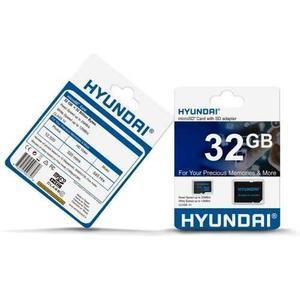 Memoria micro sd 32gb c10 hyundai retail-msd32u1hyu