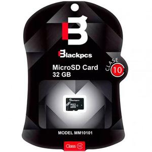 Memoria micro sd 32gb clase 10 blackpcs mm10101-32