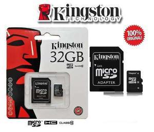 Memoria micro sd 32gb kingston c10 mayoreo barata original