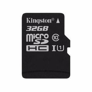 Memoria micro sd 32gb kingston cl10 con adaptador a sd