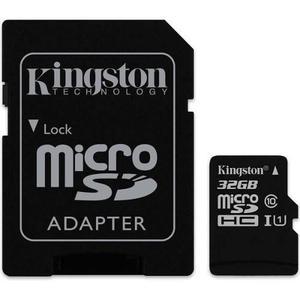 Memoria micro sd 32gb kingston sdcs/32gb 80r uhs-i clase10