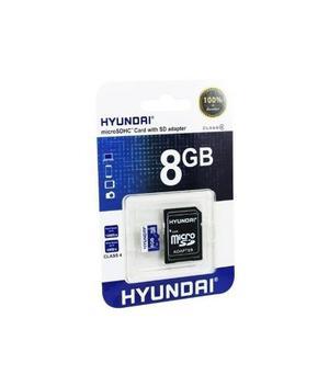 Memoria micro sd 8gb cl4 hyundai
