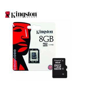 Memoria micro sd 8gb kingston cl 4 s/adaptador