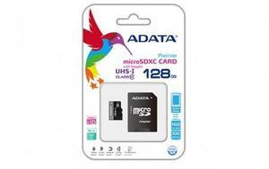 Memoria micro sd adata uhs-i u1 - 128 gb, microsdxc, 50 mb/s