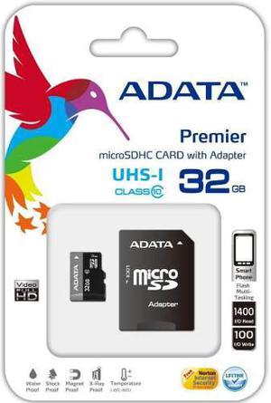 Memoria micro sd classe 10 adata 32gb celular,tableta