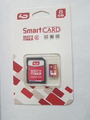 Memoria micro sd hc 8gb adaptador