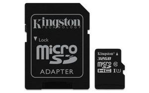 Memoria micro sd kingston technology sdcs/32gb - 32 gb, neg