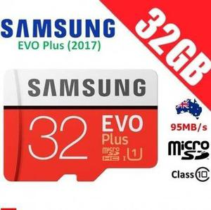 Memoria micro sd ultra high speed 32gb samsung 95 mb/seg
