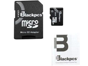 Memoria micro sdhc 32gb class 10, adaptador sd, black pcs