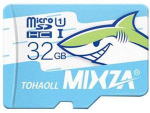 Memoria microsd 32gb clase10 ui 80mb/s 4k mixza high speed