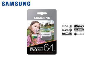 Memoria microsd 64gb samsung clase 10 para celulares huawei