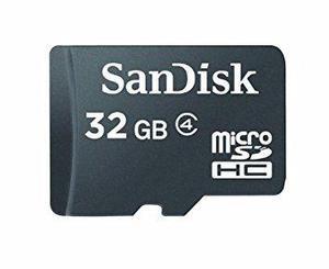 Memoria microsd sandisk sdhc 32gb class 4