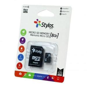 Memorias micro sd hc 8gb para celulares clase 4 stylos