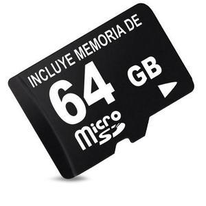 Micro sd 64 gb clase 10